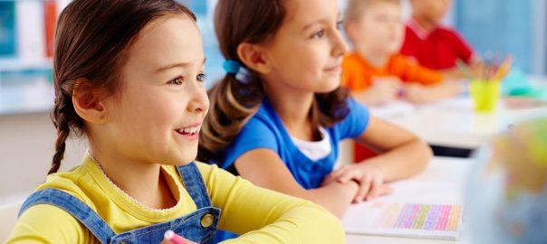 children at kindergarten